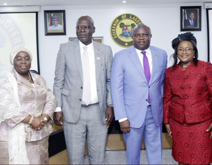 Governor Ambode swears-in two new Permanent Secretaries