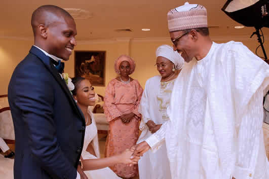 damilola osinbajo's private wedding