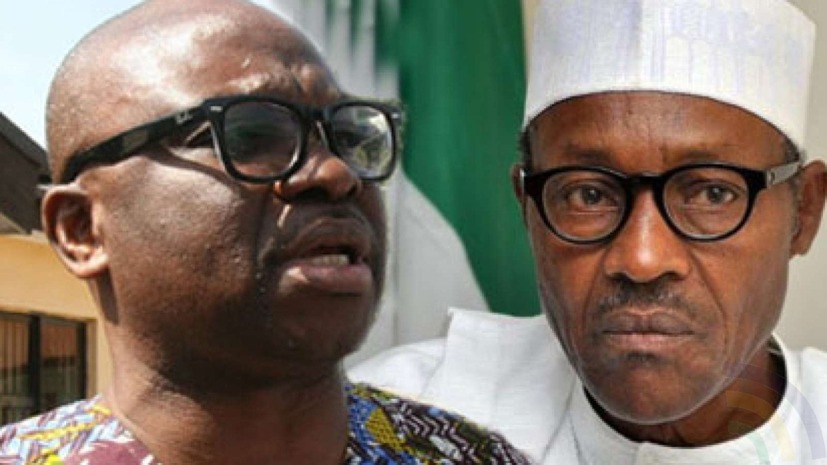 "Governor Fayose vs President Buhari Saga - ""I am not going to receive the president"""
