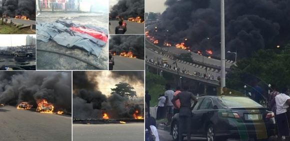 Lagos Taker Explosion Death Toll