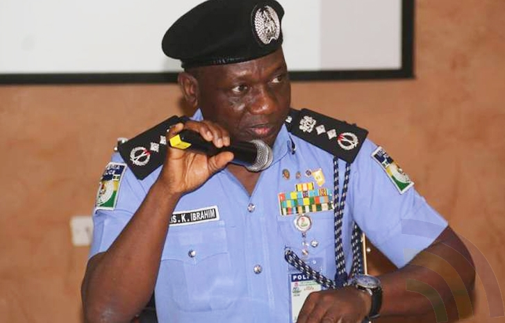 Inspector General of Police, Ibrahim Idris Submits DSS Probe to Osibanjo, - PHOTO PROOF! [See letter]