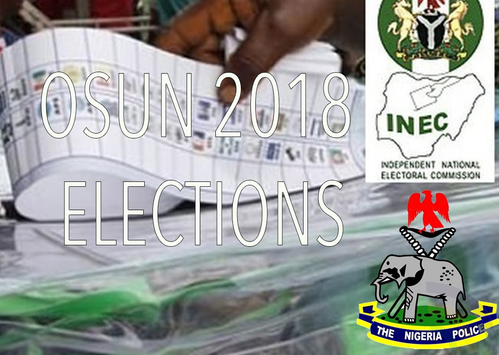 Osun 2018 Election - A Report by Haruna Marcus