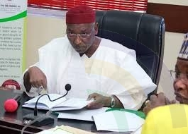 Deputy Governor of Kano state, Prof. Hafiz Abubakar declares office vacant.