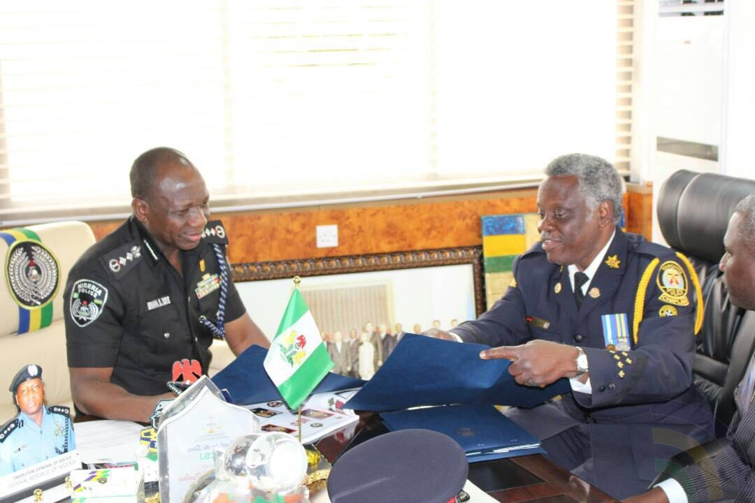 The Canadian Nigerian Tewogbade Ojo in a dialogue with IGP Ibrahim Idris