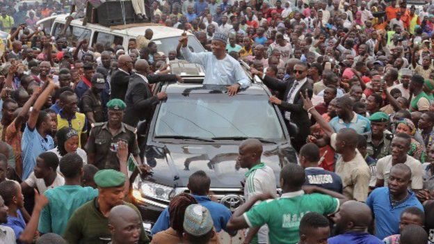I have no Skeleton in my Cupboard - Bukola Speaks @ Offa Campaign Rally