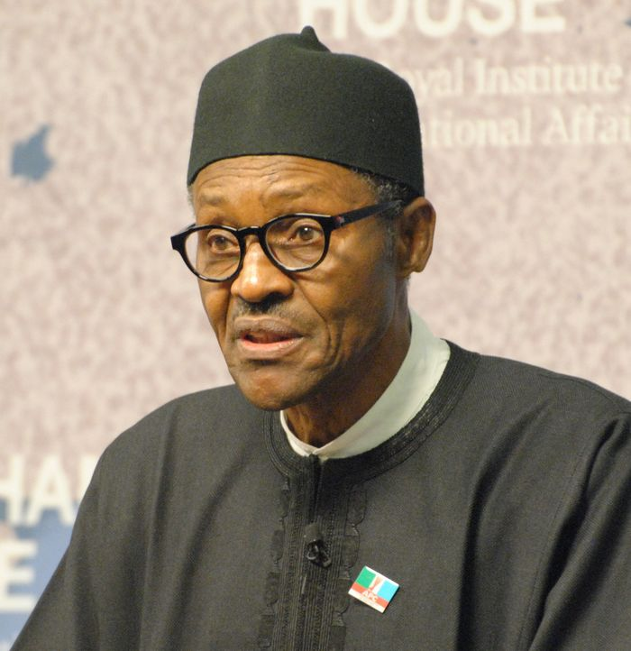 STOCK PHOTO- The event was scheduled to host Muhammadu Buhari, pictured, and four other candidates CHATHAM HOUSE - Cambridge ACS