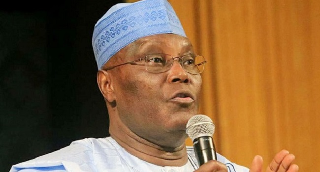 History'll condemn you if presidential election is not free, fair, Atiku tells Buhari