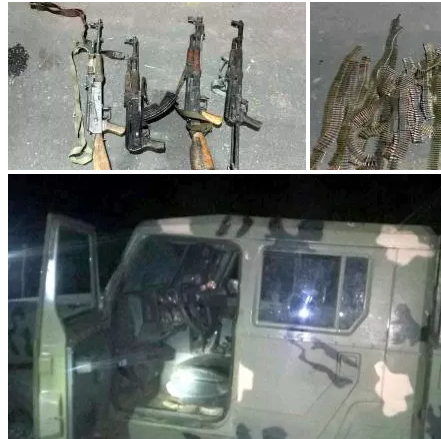 Nigerian Army - Recovered Weapons