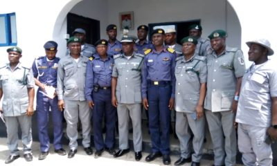 Comptroller Peters Visits Nigerian Navy Forward Operating Base, Badagry
