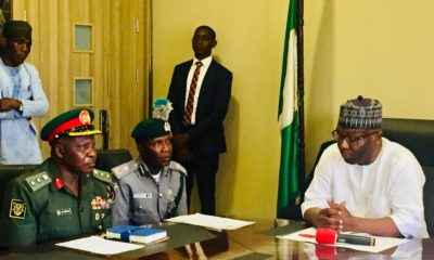 Nigeria Customs in Ilorin Meets Emir of Ilorin & Kwara State Governor