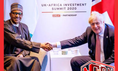 President Buhari Felicitates with UK Prime Minister Over Discharge From Hospital | COVID-19