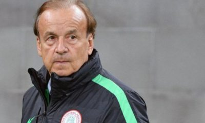 Super Eagles Rohr