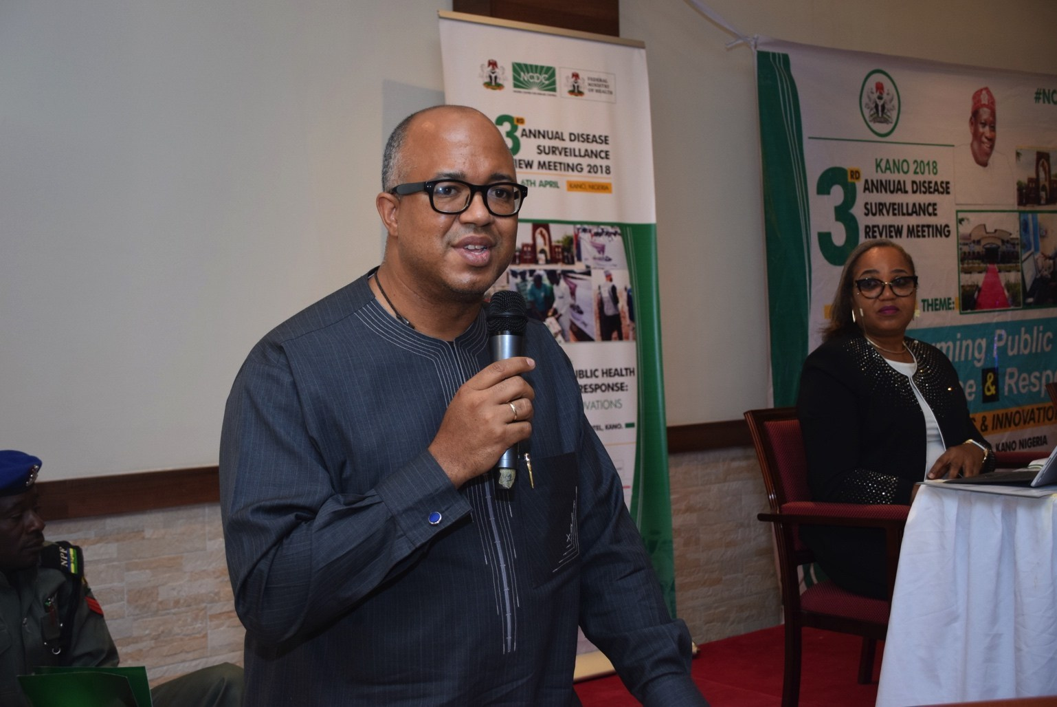 The director-general of NCDC, Chikwe Ihekweazu   Unknown Sources   tested positive