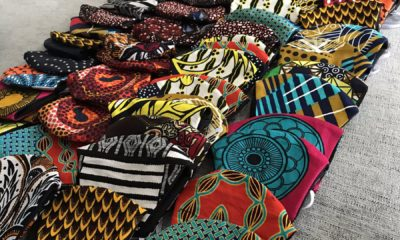 ankara face mask tailors