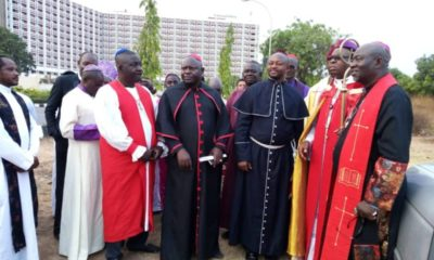Archbishop forces Ediwe darkness COVID-19