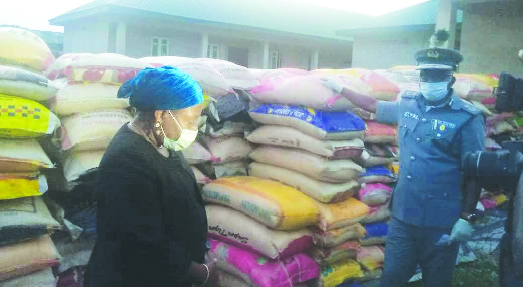 Western Marine Command Release N40.8m Relief Materials - Courtesy: The Sun News