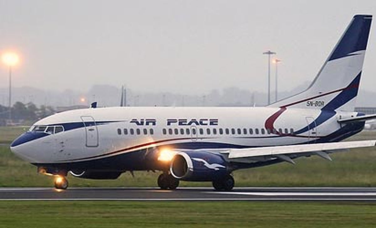 Lagos MMIA Air peace evacuated Chinese citizens