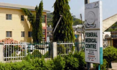 Federal Medical Centre 2-year-old tests positive Coronavirus Ogun State