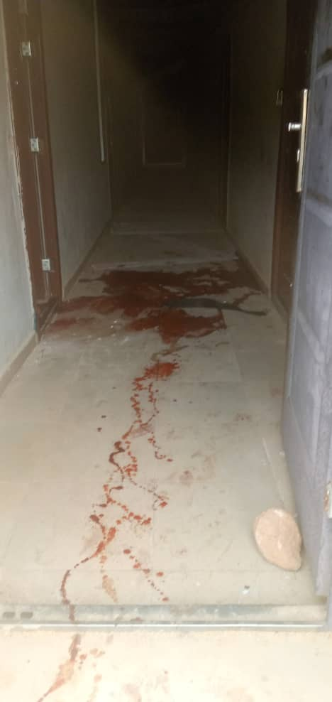 Blood Trails in the Police Station - Isanlu , Kogi State Robbery
