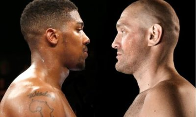 Anthony Joshua 2 fight deal Tyson Fury