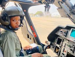 Tolulope Arotile - Nigerian Air Force's First Female Combatant Helicopter Pilot Is Dead