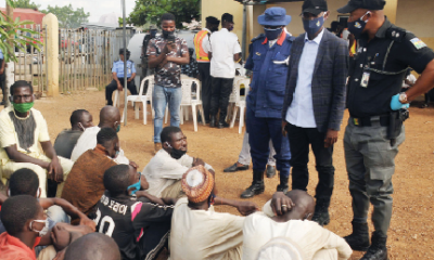 NSCDC Human Trafficker In Enugu