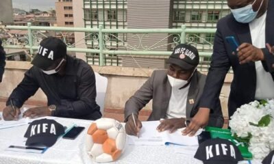 KIFA and ABS FC Sign Partnership Agreement