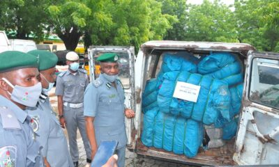 Customs Showcases Seized Smuggled Items Worth About N80m in DPV