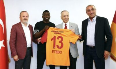 Super Eagles Midfielder, Oghenekaro Etebo Joins Galatasaray On Loan