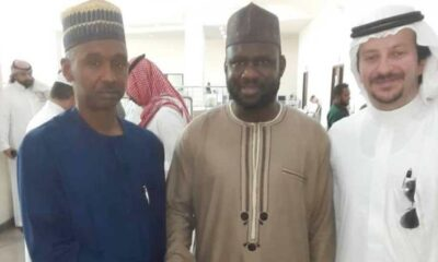 DETAINED CLERIC IN SAUDI ARRIVES NIGERIA
