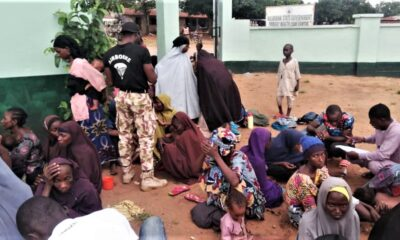 DARUL SALAAM; MILITARY HAND OVER 778 WOMEN, CHILDREN TO STATE REPS