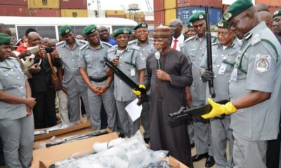 CUSTOMS GIVES UPDATE ON BORDER DRILL