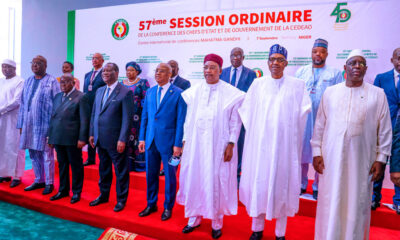 President Buhari Warns ECOWAS Against Tenure Elongation