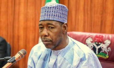 Borno Gov. Zulum Donates House and 20M to Late Col.Bako's Widow and Children.