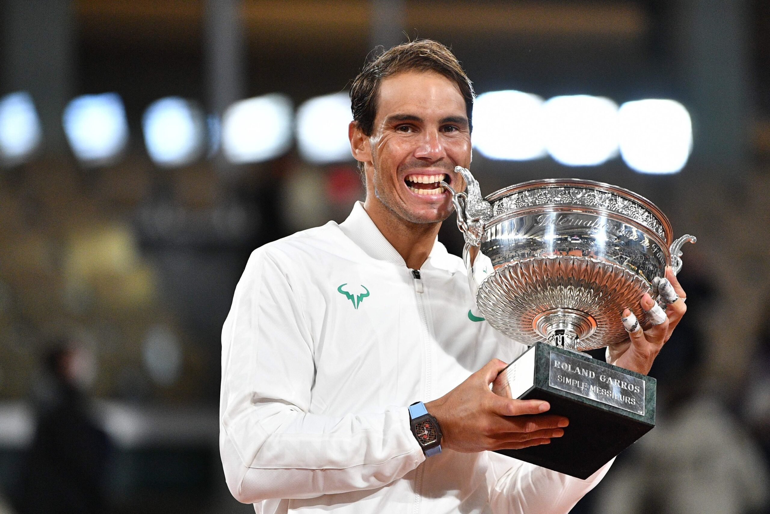 Rafael Nadal is now arguably the greatest of all time in the tennis world after equaling the 20 Grand Slam Men's singles titles of Roger Federer.