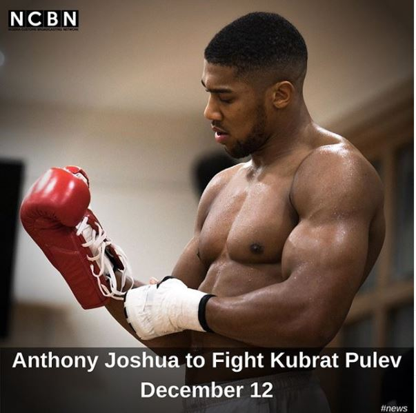 Anthony Joshua to Fight Kubrat Pulev December 12