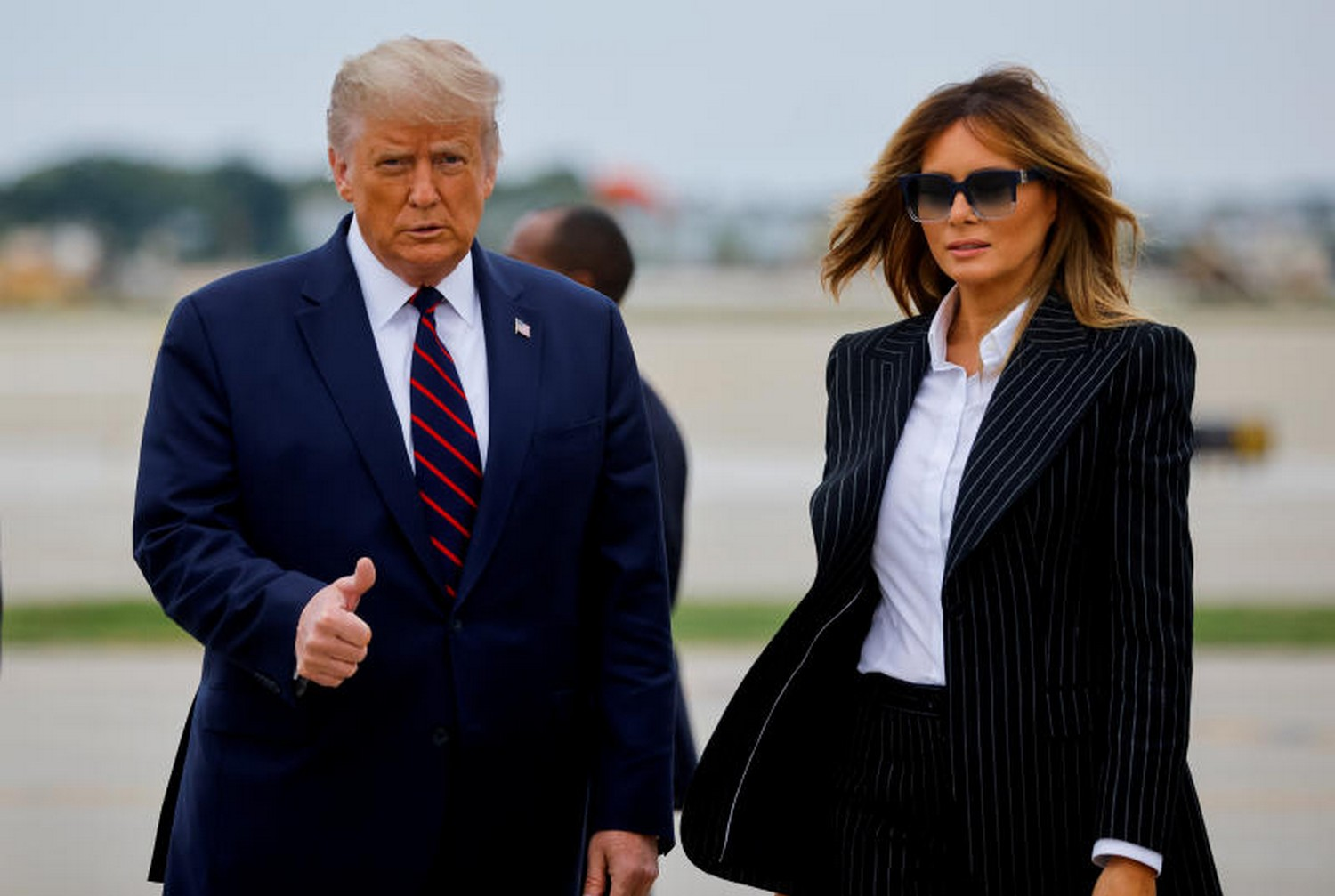 US President Donald Trump and First lady, Melania have tested positive for COVID-19