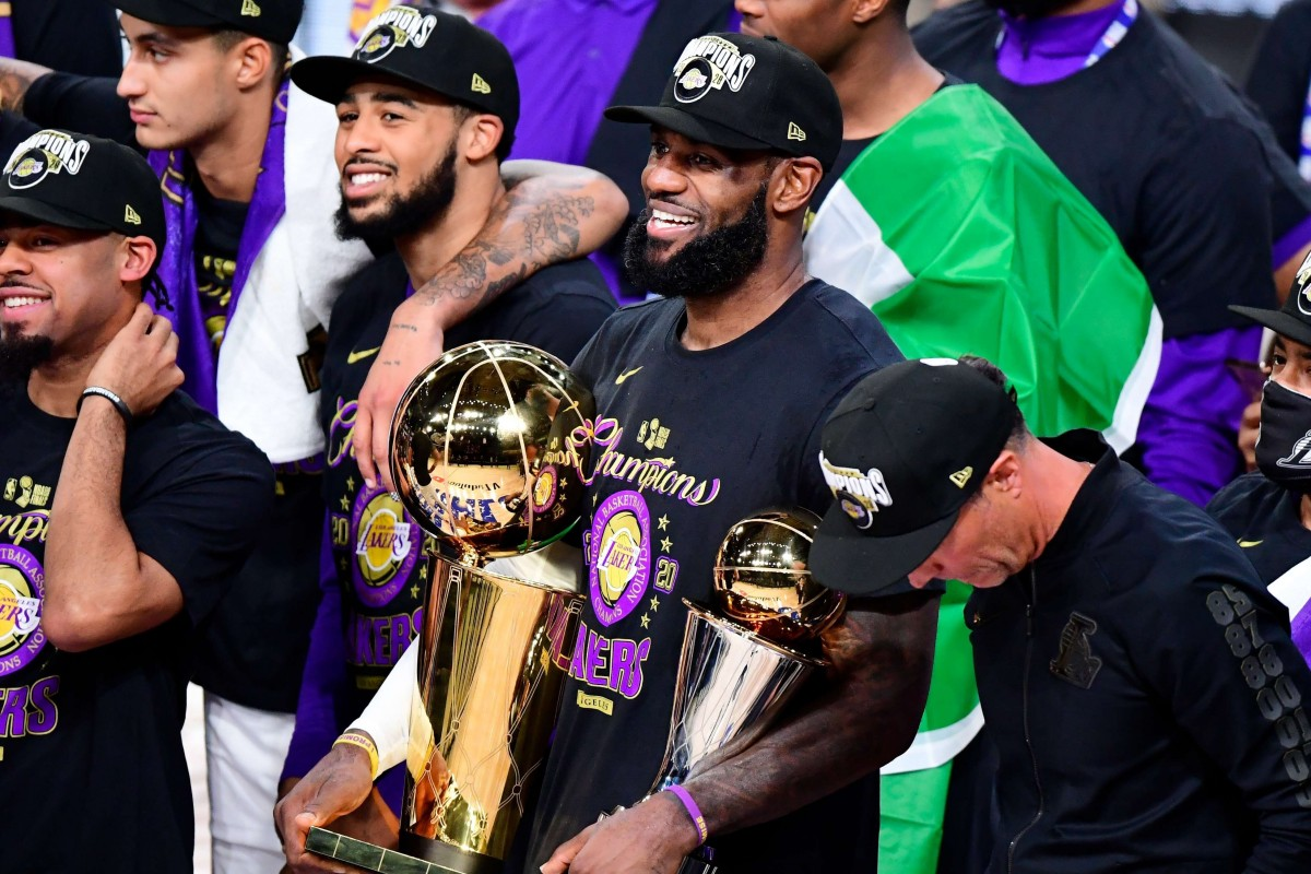 The Los Angeles Lakers ended a decade-long wait for a 17th NBA title as they beat the Miami Heat 106-93 to seal a 4-2 series victory.