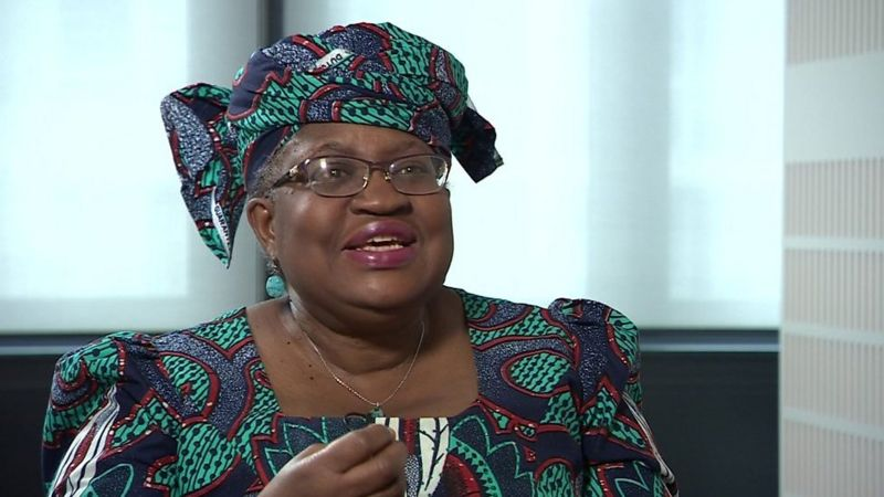 US disapprove Ngozi Okonjo-Iweala from being the first African WTO head
