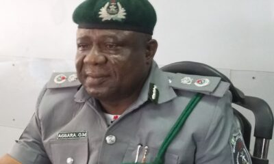 Customs Area Controller, Ogun I Command Media Briefing on Post EndSars Protest Crisis