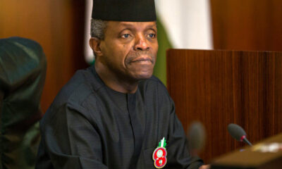 Osinbajo Calls For Coordination Between Govt, MDAs To Promote Economic Diversification