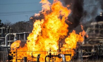 Explosions rock Shell, Agip oil