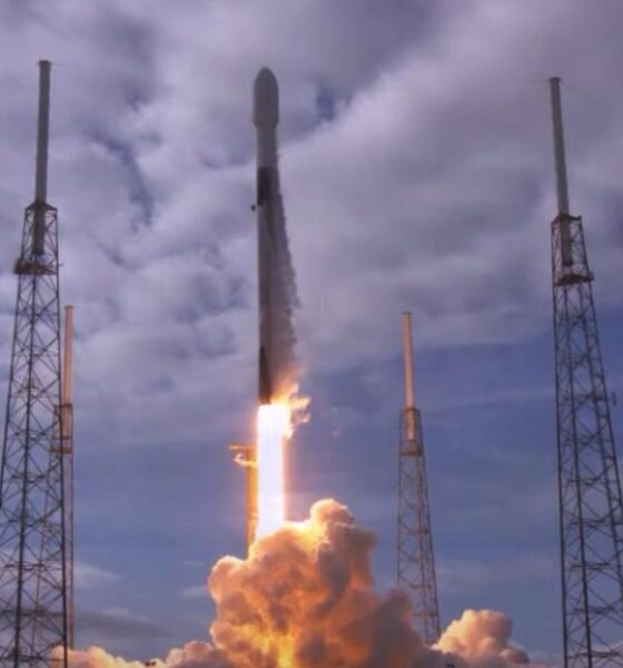 SpaceX Falcon 9 rocket carried 143 satellites
