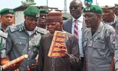 Nigeria Customs Service React