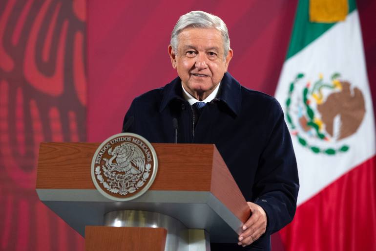 MEXICAN PRESIDENT COVID-19