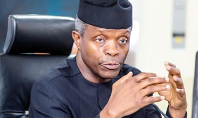 Regulate, don't prohibit cryptocurrencies, Osinbajo tells CBN