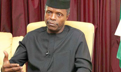 Nigeria's Devt Plans Must be Dynamic for Economic Growth-Osinbajo
