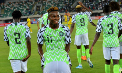 Super Eagles Pick 3 Maximum Points from Last Group Game