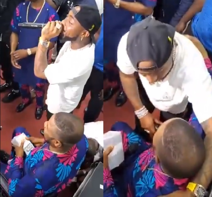 Davido Hares Stage With Yinka Ayefele
