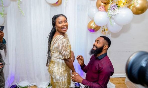First Photos Out As Comedian Arole And His Fiance Tie The Know